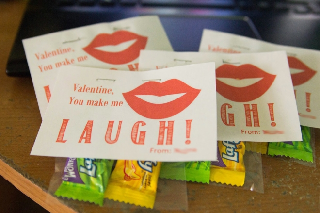 laugh valentine