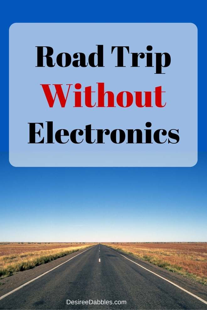 Road Trip Without Electronics